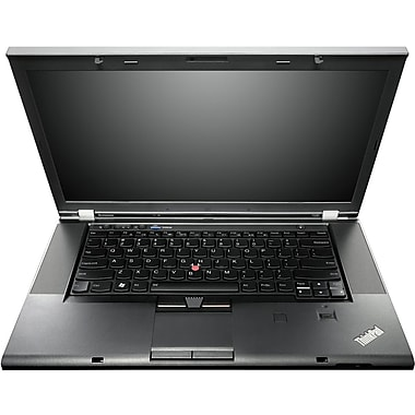 Lenovo™ ThinkPad T530 15.6in. LED LCD Laptop, 3rd Gen Intel® Dual-Core™ i5-3320M 2.60GHz 180GB SSD