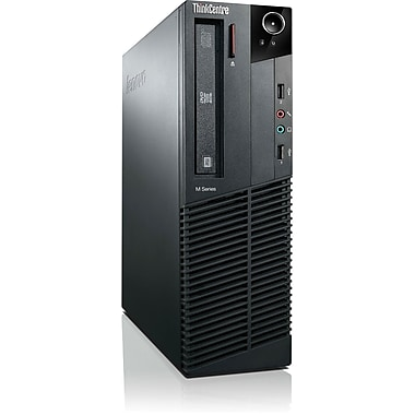 Lenovo™ TopSeller ThinkCentre M82 3306G2U SFF Desktop PC, Intel® Quad-Core™ i5-3470 3.20GHz