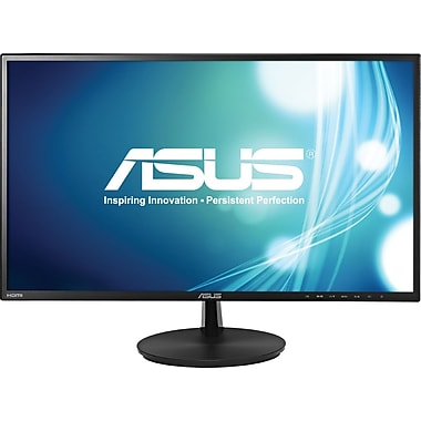 Asus® VN247H-P 23.6in. Widescreen LED LCD Monitor