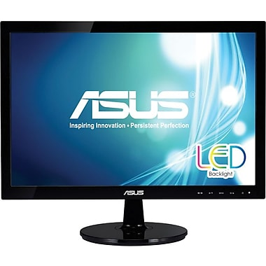 Asus® VS197T-P 18.5in. Widescreen LED LCD Monitor
