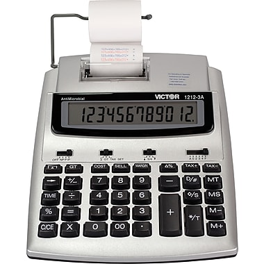 Victor 12 digit Ink Roller Print Calculator