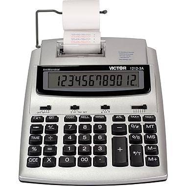 Victor 12 digit Ink Roller Print Calculator