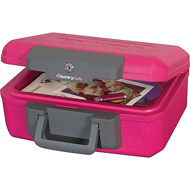 Sentry® Safe Breast Cancer Awareness .18 Cubic ft. Security Fire Chest