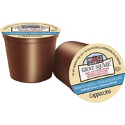 Grove Square, French Vanilla Cappuccino, Single Serve Cups, 18/Pack