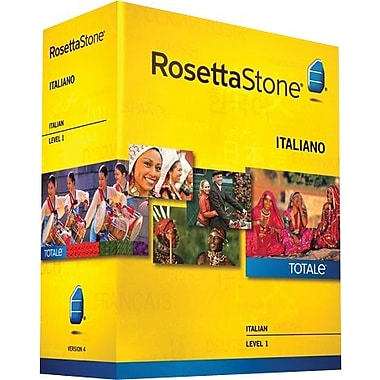 Rosetta Stone® Italian, Level 1
