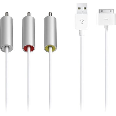 Apple® - Câble audiovisuel composite