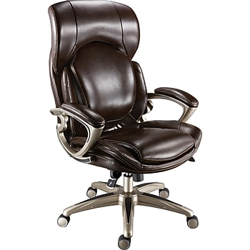 Staples Air High-Back Bonded Leather Chair