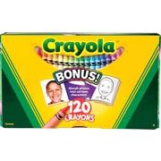 Crayola 120-Count Original Crayons, Assorted Color