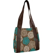 Fit & Fresh Venice Insulated Designer Lunch Bag with Ice Pack -Teal Floral