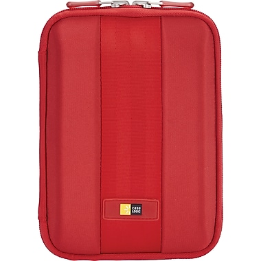 Case Logic QTS-207 7in. Tablet Case, Red