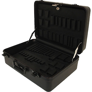 Platt 978T-CB Ultimate Polyethylene Tool Case With Black Hardware