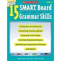 Scholastic 15 SMART Board Lessons for Tackling Tough-to-Teach Grammar Skills