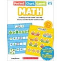 Scholastic Pocket Chart Games: Math