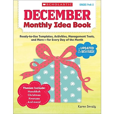 Scholastic December Monthly Idea Book
