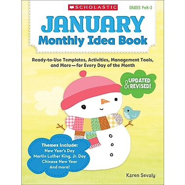 Scholastic January Monthly Idea Book
