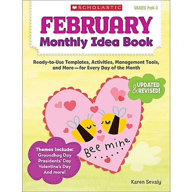 Scholastic February Monthly Idea Book