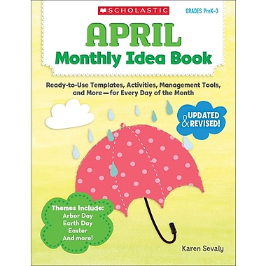 Scholastic April Monthly Idea Book