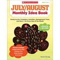 Scholastic July & August Monthly Idea Book