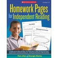 Scholastic Homework Pages for Independent Reading