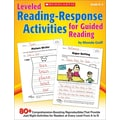 Scholastic Leveled Reading-Response Activities for Guided Reading