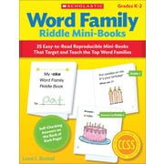 Scholastic Word Family Riddle Mini-Books