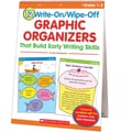 Scholastic 12 Write-On/Wipe-Off Graphic Organizers That Build Early Writing Skills (Flip Chart)