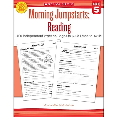 Scholastic Morning Jumpstarts: Reading (Grade 5)