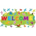 Scholastic Jingle Jungle Welcome! Bulletin Board