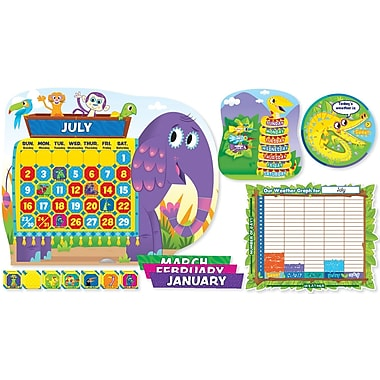 Scholastic Jingle Jungle Calendar Bulletin Board