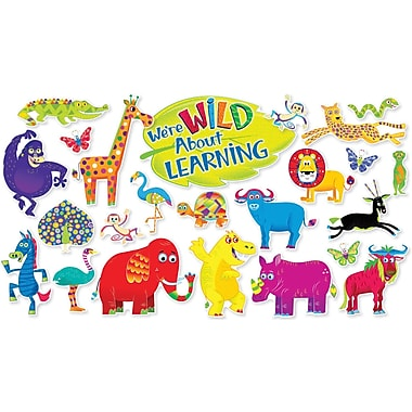 Scholastic Jingle Jungle Animals Bulletin Board