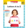 Scholastic Study Smart: Letters A to Z (K-1)
