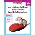 Scholastic Study Smart Vocabulary Builder: Words with Multiple Meanings Level 3-4