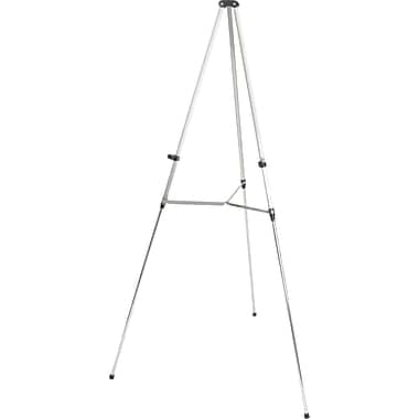 Quartet® Silver Aluminum Lightweight Telescoping Display Easels