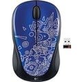 Logitech Wireless Mouse M317 (Blue Topography)
