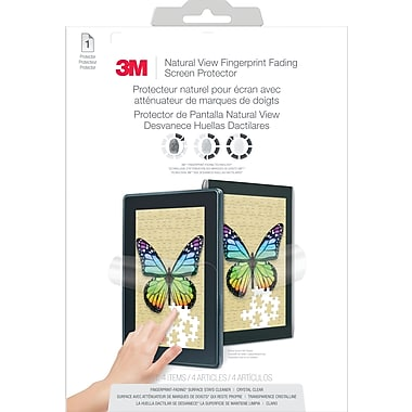 3M™ Natural View Fingerprint Fading Screen Protector Amazon® Kindle™ Fire HD