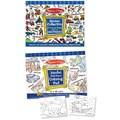 Melissa & Doug Boys Coloring / Sticker Pad Bundle