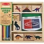 Melissa & Doug Dinosaur Stamp Set