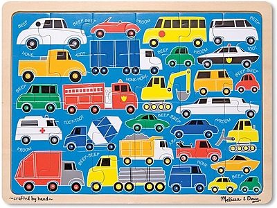 Melissa & Doug Beep Beep Jigsaw Puzzle 24pc 178571