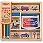 Melissa & Doug Vehicle Stamp Set