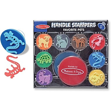 Melissa & Doug Handle Stamper - Favorite Pets