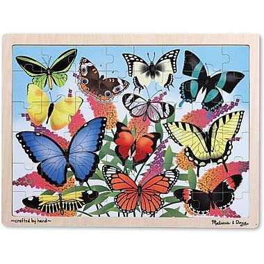 Melissa & Doug Butterfly Garden Wooden Jigsaw Puzzle - 48pc