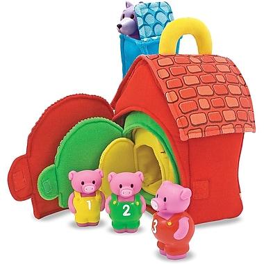 Melissa & Doug Three Little Pigs Play Set