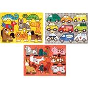 Melissa & Doug Mix 'N Match Puzzle Bundle (3 Puzzle Bundle)