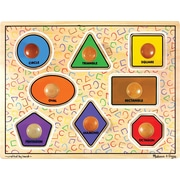 Melissa & Doug Large Shapes Jumbo Knob