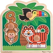 Melissa & Doug Rainforest Friends - Jumbo Knob