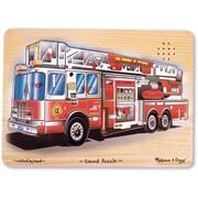 Melissa & Doug 343 Fire Truck Sound Puzzle