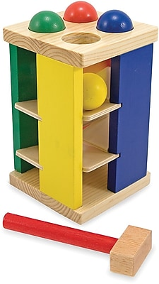 Melissa & Doug Pound and Roll Tower 178125