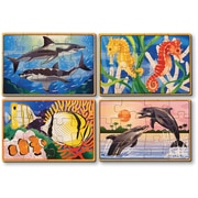 Melissa & Doug Sea Life Puzzles in a Box