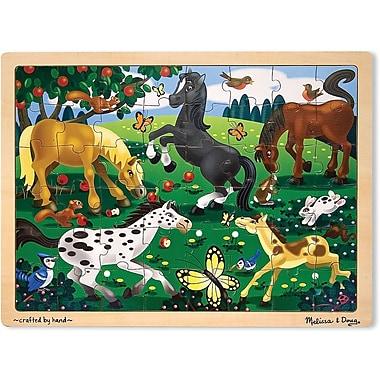 Melissa & Doug Frolicking Horses Jigsaw (48 pc)