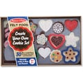 Melissa & Doug Felt Food Cookie Set